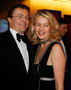 Prinz Johan Friso und Prinzessin Mabel im Oktober 2008 an einem Galadinner in Oslo. (Bild: Keystone)