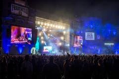 Bühnenshow von A$AP Rocky. (Bild: Reto Martin)
