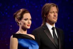 Brad Pitt and Angelina Jolie wax figures (Bild: Keystone)