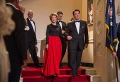 "In ""Der Butler"" spielte Alan Rickman US-Präsident Ronald Reagan. (Bild: Keystone)"