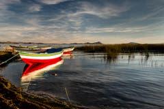 Am Titicacasee in Huatajata, Bolivien. (Bild: Cyrill Schlauri)