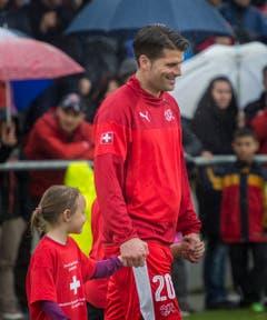 Mario Cantaluppi spielte bei den Suisse Legends mit. (Bild: Andrea Stalder)