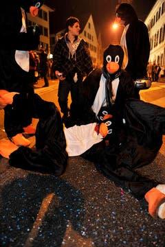 Die Pinguine sind unterwegs. (Bild: Reto Martin)