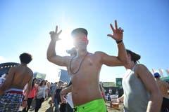 Sun, Fun und viel Musik. (Bild: Mario Testa)
