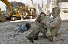 Bilder der Zerstörung im Herzen von Manhattan. (Bild: Keystone)