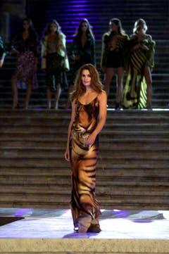 Elegant: Auftritt bei der Spanischen Treppe in Rom im Sommer 2000. (Bild: Keystone)