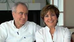 Ein Herz und eine Seele: Kurt Felix und seine Frau Paola. (Bild: Keystone)