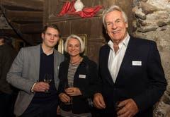 Von links nach rechts: Cornelius Speinle, Astrid Keller, Pepe Lienhard. (Bild: Andrea Stalder)