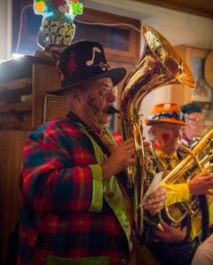 Beizenfasnacht mit Guggenmusik im Schöntal Ermatingen (Bild: Andrea Stalder)