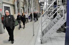 Andruck der neuen Thurgauer Zeitung im Druckzentrum der Tagblatt AG in Winkeln. (Bild: Reto Martin)