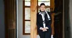 Kategorie Politik: Die 41-jährige Carmen Haag ist seit diesem Jahr die zweite Frau in der Thurgauer Regierung. Mit 17 trat die Stettfurterin der JCVP bei, weil sie nach einem Leserbrief angefragt worden ist. (Bild: Reto Martin)