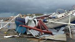 Schiffe auf der Insel St.Thomas, USA Virgin Islands. (Bild: IAN BROWN (AP))