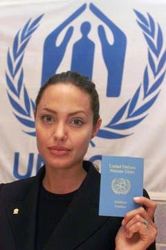 Jolie ist ehemalige Sonderbotschafterin für das UNO-Hochkommissariat für Flüchtlinge (UNHCR). (Bild: Keystone)