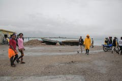 Haiti is on alert for the approach of Hurricane Matthew (Bild: Keystone)