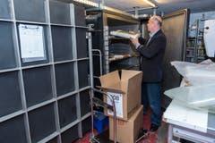 Nach der Kühlkammer kommen die Bestände in einen Vakuumtank. Hier werden diese vollständig getrocknet. (Bild: Urs Lindt)