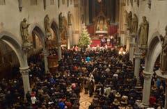 Rorschach - Gršsster Orthodoxer Gottesdienst in der Herz Jesu Kirche (Bild: Ralph Ribi)