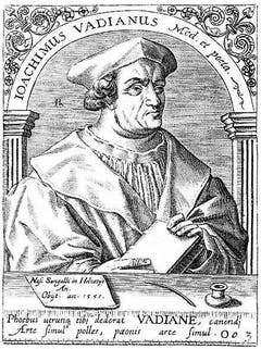 1525 wurde Vadian, der wichtigste Reformator der Ostschweiz, Bürgermeister von St. Gallen – trotz Widerstand der Altgläubigen und der Täufer. Alsbald wurden Kunstwerke aus der Stadtkirche St. Laurenzen verbrannt, zahlreiche Feiertage abgeschafft und das bischöfliche durch ein städtisches Ehegericht ersetzt.