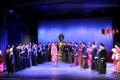 Die Operette «Viktoria und ihr Husar» feierte am Wochenende Premiere. (Bild: Benjamin Manser)