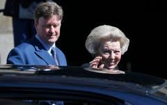 Königin Beatrix sagt Adieu. (Bild: Keystone)