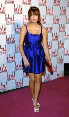 Peaches Geldof 2007 bei den Elle Style Awards in London. (Bild: Keystone)