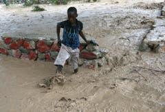Hurricane Matthew hits Haiti (Bild: Keystone)