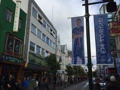 Die Einkaufsstrasse von Reykjavik. (Bild: Marion Loher)