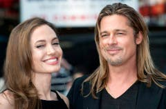 Brad Pitt and Angelina Jolie got married (Bild: Keystone)
