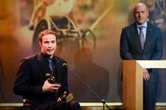 """""""So lange, bis er auseinanderbricht."""" Der Thurgauer Behindertensportler Marcel Hug im Juli auf die Frage, wie lange ein Rollstuhl hält. (Bild: Keystone)"""