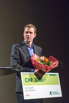 Orientierungsläufer Daniel Hubmann wurde als Sportlegende geehrt. (Bild: Michel Canonica)