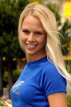 Auch dieses Foto wurde noch vor Linda Fähs Wahl zur Miss Schweiz aufgenommen. (Bild: Keystone)