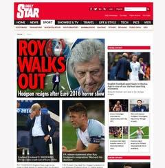 Daily Star. (Bild: Printscreen)