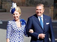 Camilla de Bourbon-Deux-Siciles und Prinz Carlo de Bourbon-Deux-Siciles gehörten ebenfalls zu den Gästen. (Bild: Keystone)