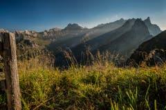 Zurück in die Ostschweiz: Das Alpsteinmassiv mit Säntis, vom Schäfler aus gesehen. (Bild: Cyrill Schlauri)