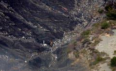 Die Rettungskräfte waren bei der Bergung der Trümmer aufs äusserste gefordert. (Bild: Keystone (Thomas Köhler/photothek.net/Auswärtiges Amt/dpa))