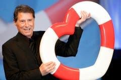 """Das Musical """"Ich war noch niemals in New York"""" bringt Udo Jürgens' 23 grössten Erfolge auf die Bühne. Es feierte am 2. Dezember 2007 Premiere im Operettenhaus Hamburg. (Bild: Keystone)"""