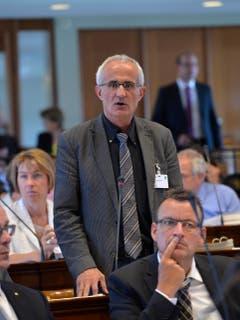 Kantonsratssession im Juni 2015, ein Monat, bevor die Krebserkrankung diagnostiziert wurde. (Bild: Regina Kühne/Archiv)