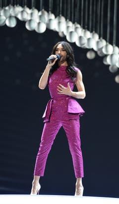 Conchita Wurst war mit dem Sieg im vergangenen Jahr dafür verantwortlich, dass der Song Contest 2015 in Wien stattfand. (Bild: Keystone)