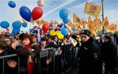 A year after Crimea annexation (Bild: Keystone)