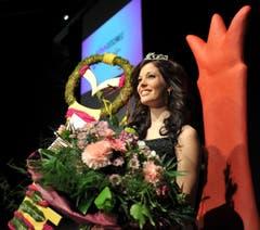 Sie hat gut lachen: Die neue Miss Ostschweiz Lisa Schneider. (Bild: Reto Martin)
