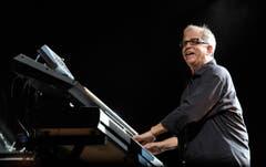 Toto-Gründungsmitglied und Keyboarder Steve Porcaro. (Bild: Reto Martin)