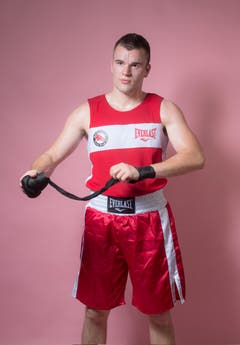 Amateur Benjamin Friedli, Jahrgang 1991, BC Sport Ring St.Gallen. (Bild: Benjamin Manser und Urs Bucher)