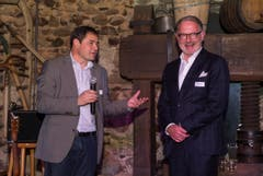David Angst (links) und Hermann Hess. (Bild: Andrea Stalder)