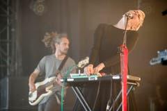 Kaltehand mit Sängerin Natasha Waters aus der Schweiz. (Bild: Benjamin Manser)