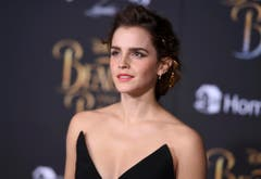 """2. März 2017: Emma Watson bei der Premiere zu """"Die Schöne und das Biest."""" (Bild: Keystone)"""