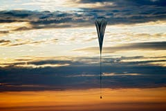 167,64 Meter hoch ist der Ballon, wenn er abhebt. (Bild: Keystone)
