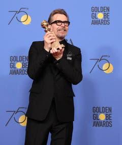 Gary Oldman wurde bester Schauspieler. (Bild: Keystone)