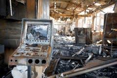 Zahlreiche Unternehmen stehen nach dem Brand vor dem Nichts. (Bild: Urs Bucher)
