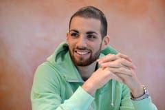 Kariem Hussein, Hürden-Europameister aus Tägerwilen, ist Thurgauer des Jahres. Derzeit absolviert der 25-Jährige im Kantonsspital Münsterlingen ein Praktikum. (Bild: Reto Martin)