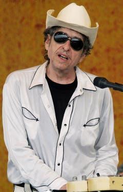 """Dylan im Jahr 2006 während des """"Jazz and Heritage Festivals"""" in New Orleans. (Bild: Keystone)"""