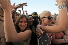Tolle Stimmung beim Konzert von Sean Paul. (Bild: Reto Martin)